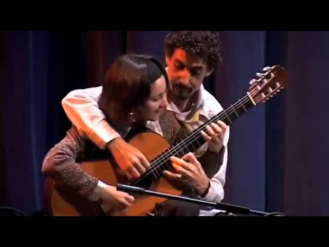 Сесилия Сикейра и Фернандо Лима .TICO TICO.