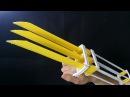 Как сделать когти Росомахи бумага X-men Wolverine
