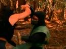 Mortal Kombat Conquest : Shang Tsung vs Reptille