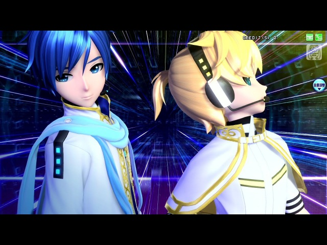 [60fps Full風] erase or zero - カイト 鏡音レン KAITO Kagamine Len Project DIVA English Romaji PDA FT