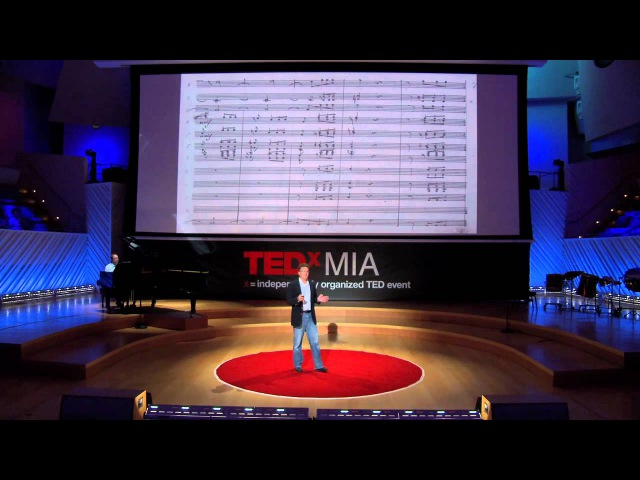 The world's ugliest music Scott Rickard TEDxMIA