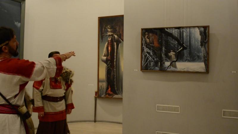 в музее славянской культуры тайные коды Константина Васильева