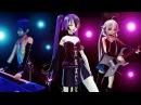 Romeo Cinderella Cover Vocaloid Song MMD Miku Kaito and IA ロミオとシンデレラ