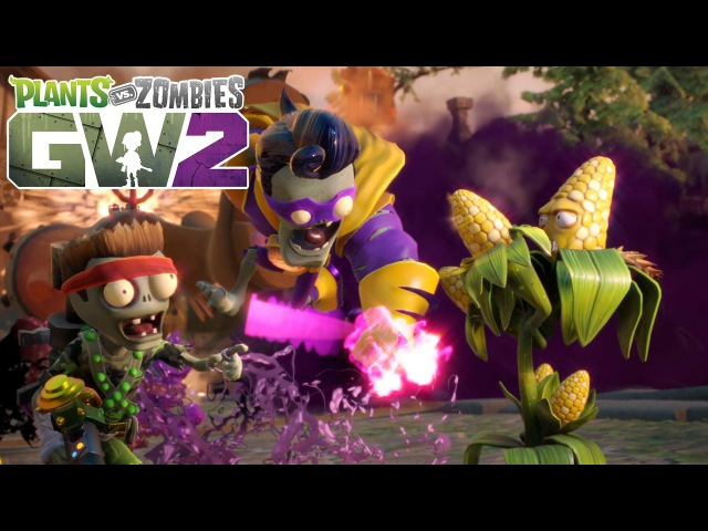 Plants vs. Zombies Garden Warfare 2: трейлер к выходу игры
