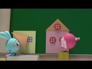 Малышарики - Домики - серия 14 - обучающие мультфильмы для малышей 0-4