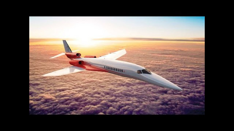 Airbus Boosts Aerion's AS2 Supersonic Business Jet AINtv