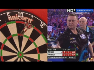 Phil Taylor vs Kevin Painter (PDC World Darts Championship 2016 / Round 2)