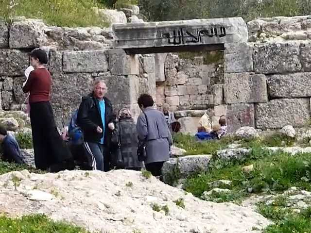GUIDE21 Столица потерянных колен Израиля Себастия