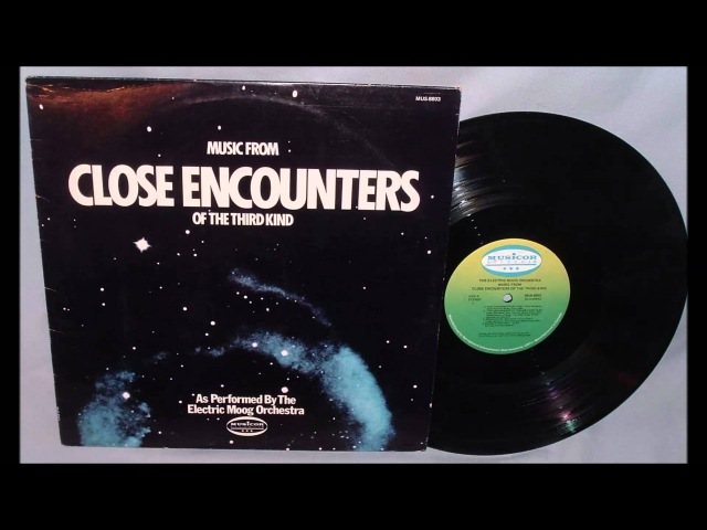 Electric Moog Orchestra Music From Close Encounters of the Third Kind