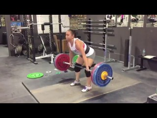 Alyssa Sulay Clean 108kg at 63kg Bodyweight