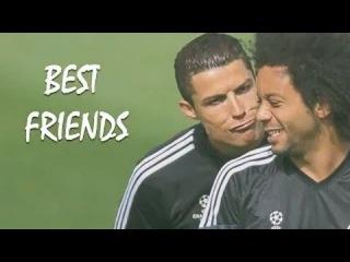 Лучшие друзья в футболе ● Топ 10 ● Роналду, Марселу, Неймар, Месси, Ройс, Касильяс, Рамос и другие