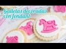 Galletas de mantequilla decoradas | 15 Mesa dulce para Baby Shower | Quiero Cupcakes!