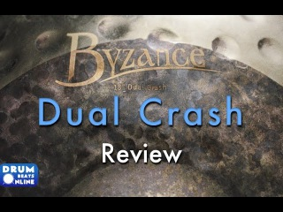 "Meinl Byzance 18"" Dual Crash Review - Drum Beats Online"
