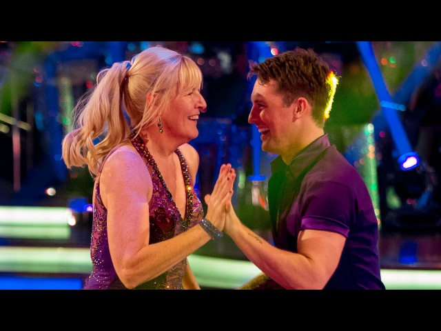 Jenny Gibney Tristan MacManus Jive to 'Happy' - Strictly Come Dancing: 2014 - BBC One