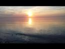 Закат в Светлогорске на Балтийском море