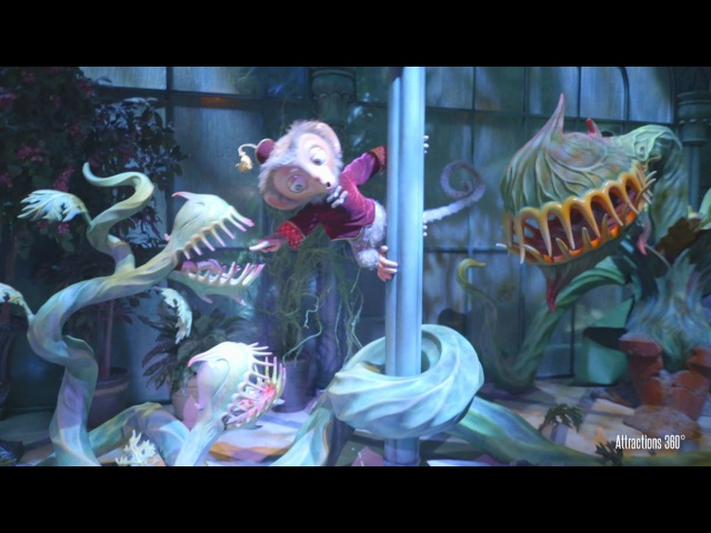 4K Mystic Manor Trackless Ride Best Disney Ride Ever Hong Kong Disneyland 2016