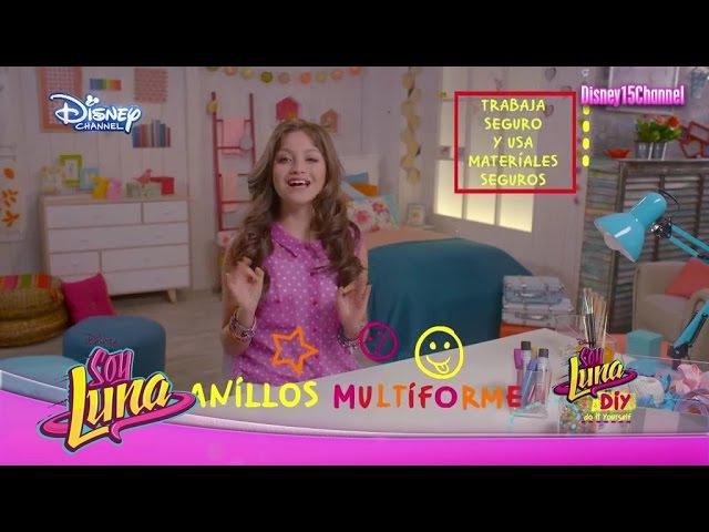 Disney Channel España Soy Luna DIY Anillos Multiforme Karol Sevilla