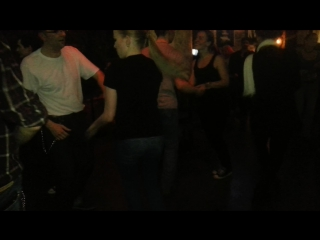 Moscow Dancing Rebels Rockabilly Style Jive in BlackSmith Pub & The Betty Boop Lovers