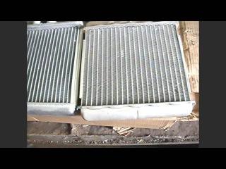 замена радиатора отопителя на шевролет ланос