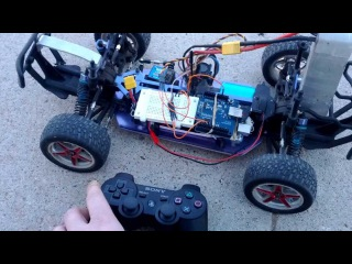 Control an RC car with a PS3 controller, Arduino UNO, USB host shield and Bluetooth dongle (Part 1)