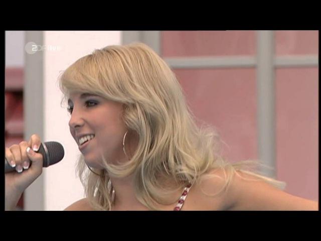 Annemarie Eilfeld Seele unter Eis live im ZDF Fernsehgarten