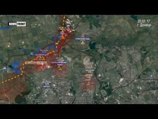 Украинские силовики обстреливают прифронтовые территории ДНР