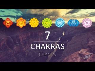 ALL 7 CHAKRAS HEALING CHANTS   Chakra Seed Mantras Meditation Music