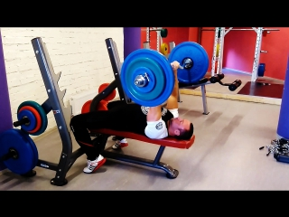Squat 175 kg*15 and French bench press 75 kg*5