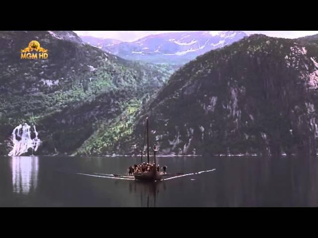 Фрагмент фильма Викинги 1958 г
