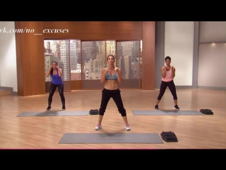 JILLIAN MICHAELS - Arms chest and back (HOT BODY healthy mommy)