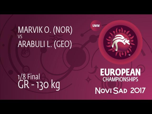 1 8 GR 130 kg L ARABULI GEO df O MARVIK NOR by TF 9 0