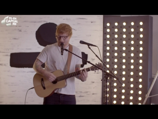Ed sheeran - starving (hailee steinfeld, grey cover) (capital live session)