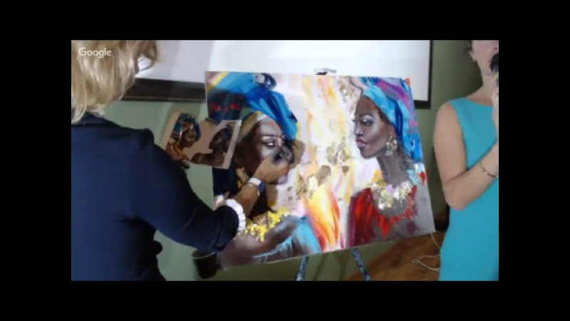 Онлайн трансляция мастер класса Ольги Базановой Эмоции в портрете
