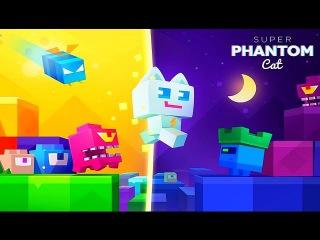 Super Phantom Cat приключения СуперКота Фантома Игравой мульфильм #BKA Летсплей!