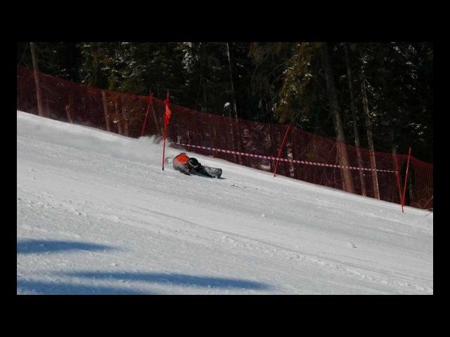 Carving snowboard Białka