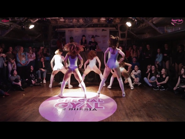 SPECIAL GYAL IN RUSSIA SHOW CONTEST 2 PLACE SOMIQUE DANCE LAB