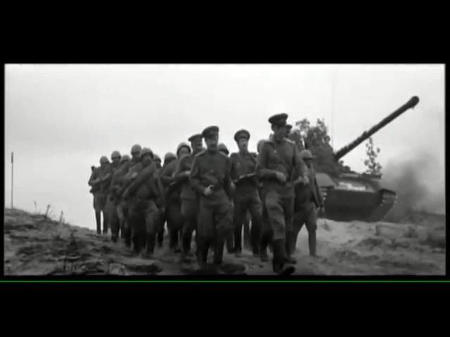 встреча с Армянской дивизией идущей маршем на Берлин из кф Солдат и Слон