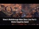 ★Elder Scrolls Online ★ Vivec's Walkthrough Main Story Line DIVINE INQUIRIES Part 5