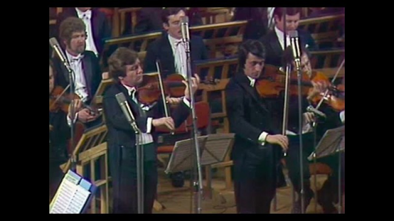 Viktor Tretyakov Yuri Bashmet play Bruch Double Concerto - video 1985