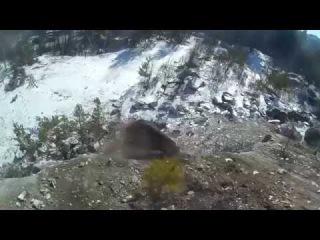 Мраморка - чистка скалы