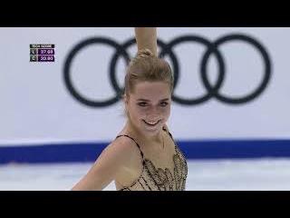 Елена Радионова. Cup of China 2017, КП