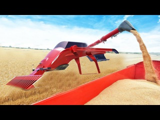 World Amazing Modern Agriculture Heavy Equipment Mega Machines Bizarre Exotic Tractor Harvester