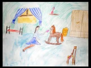 Рисунок игра в лошадки чайковский