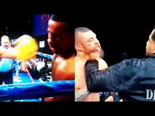 (CHAOS!!) ANDRE DIRRELL IMMEDIATE REACTION TO TEAM ASSAULTING JOSE UZCATEGUI & DQ WIN AFTER LATE HIT