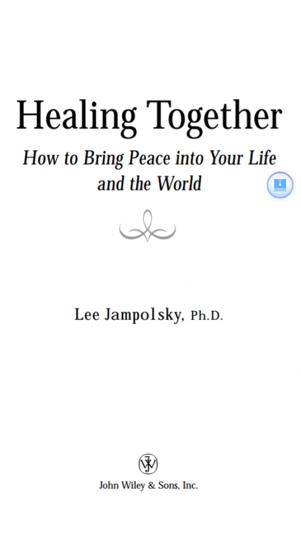 Healing Together How to Bring Peace
