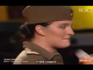 Elena vaenga alyona petrovska así como eras (каким ты был) de los cosacos de kuban (sub español)