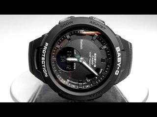 Casio G-SQUAD Baby-G BSA-B100-1A Bluetooth Step tracker watch 2018