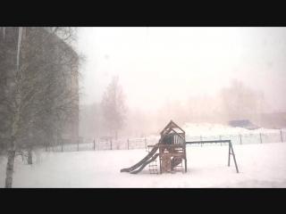 30 марта...суровая сибирская весна)))