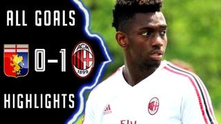 Genoa Milan U19 0-1 Sintesi e Gol - Highlights Goals - HD *CAMPIONATO PRIMAVERA*