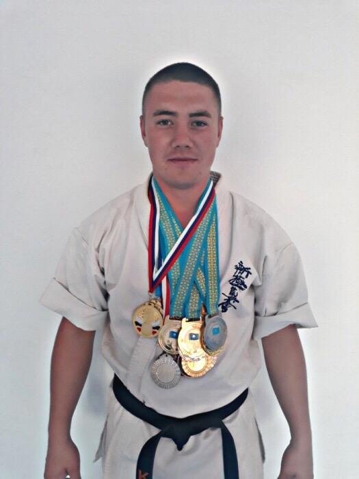 Тренер Карагандинской группы Шинкиокушинкай карате.